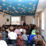 Sala wykładowa podczas wystąpienie prof. J. Morbitzera