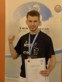 Student MWSE z medalem mistrzostw europy
