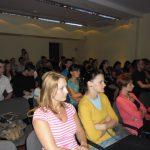 Uczestnicy spotkania w trakcie wykładu