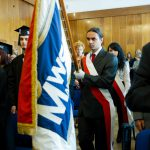 Inauguracja roku akademickiego - sztandar