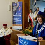 Inauguracja roku akademickiego - przemowa prodziekan