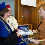 Inauguracja roku akademickiego - wręczenie wyróżnienia