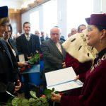 Inauguracja roku akademickiego - wręczenie wyróżneinai
