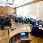 Inauguracja roku akademickiego - widok ogólny na salę