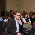 Studenci uczestniczący w konferencji