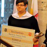 2012 Nagroda Tertila - odebranie nagrody
