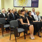 Nauczyciele akademiccy i zaproszeni na uroczystość goście