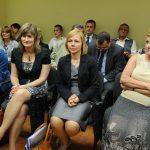 2012 Promocja absolwentów - uczestnicy promocji absolwentów