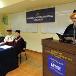 Pani Ewa Milówka podczas wystąpienia