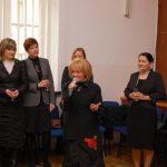 Wiceprezydent Krystyna Latała i przedstawiciele władz Uczelni