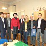 Delegacja pracowników MWSE w Wydziale Zamiejscowym w Kuldiga