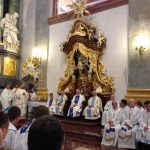 Arcybiskup J. Michalik podczas Mszy św. w Bazylice Jasnogórskiej