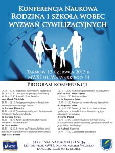 Rodzina i szkoła wobec wyzwań cywilizacyjnych2