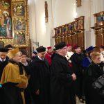 Ślubowanie przedstawicieli pracowników akademickich w archikatedrze