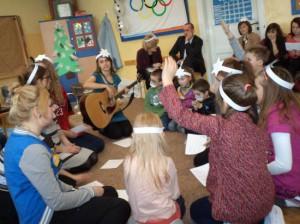 Studenci w szkole
