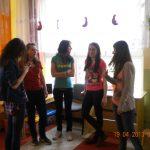Studentki MWSE w Przedszkolu nr 34