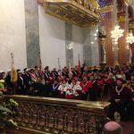 Rektorzy i dziekani reprezentujący środowisko akademickie w Bazylice Jasnogórskiej
