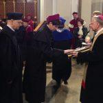 Wicekanclerz, mgr Renata Mielak składa ślubowanie w archikatedrze