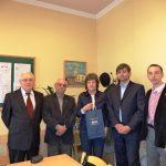 Wizyta z Wydziale Zamiejscowym w Cesis