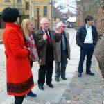Zwiedzanie starego miasta w Kuldiga