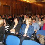 Uczestnicy podczas wykładu w auli przy ul. Waryńskiego 14