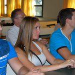 Troje stypendystów programu Erasmus podczas konferencji