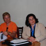 Mart Soonik-Estonia oraz Niki Kavoura z uczelni w Grecji
