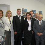 Seminarzyści dr Bożeny Alejziak wraz z promotorem i członkami komisji prof. Zenonem Muszyńskim i mgr Bożeną Niekurzak