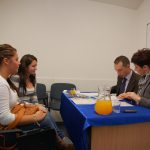 Praktyki na Wyspach Kanaryjskich Rozmowy kwalifikacyjne - uczestnicy rozmów kwalifikacyjnych oraz prowadzący