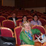 Przedstawiciele uczelni partnerskich z Turcji i Litwy w sali konferencyjnej