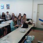 Uczestnicy konkursu zorganizowanego przez mgr Radoslawa Pyrka
