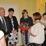 Przedstawiciele władz Uczelni oraz mgr Urszula Ciężadło dyrektor Przedszkola nr 34 w Tarnowie