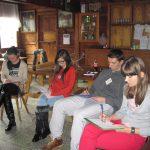 Warsztaty pedagogiczne TTPS - uczestnicy notujący na kartkach