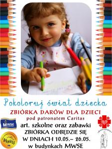 Plakat Zbiórka zabawek