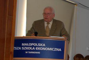 Prof. Leszek Kałkowski, Kierownik KAtedry Nieruchomości i Ubezpieczeń