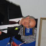 Burmistrz Gorlic Witold Kochan podczas wystąpienia