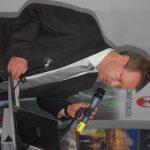 prof. dr hab. Janusz Morbitzer w trakcie wystąpienia
