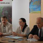 Kanclerz mgr Zofia Kozioł i przedstawiciele władz lokalnych