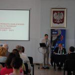 Starosta Gorlicki Mirosław Wędrychowicz podczas prezentacji