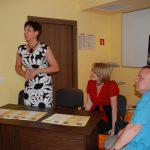 Wicekanclerz mgr Renata Mielak przedstawia swoje wrażenia z IV edycji konkursu