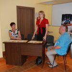 Opiekun KNN DOMUSS dr Marzena Bac przypomina założenia konkursu Moja Uczelnia. Moje Miasto