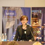 dr Barbara Klasińska podczas wystąpienia