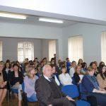 Słuchacze podczas wykładów przedstawicieli uczelni partnerskich