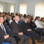 Uczestnicy Dnia Erasmusa w sali wykładowej podczas prelekcji