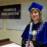 Dziekan Wydziału Nauk Społecznych, dr Renata Smoleń podczas wystąpienia