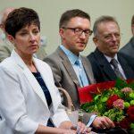 Nauczyciele akademiccy i przedstawiciele władz samorządowych