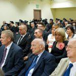 Nauczyciele akademiccy w trakcie części oficjalnej