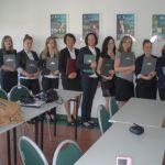 Grupa studentek specjalności Zarządzanie i administracja publiczna - studia I stopnia