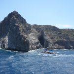 Kreta - krajobraz może, skaliste wybrzeże