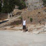 Student podczas zwiedzania wyspy